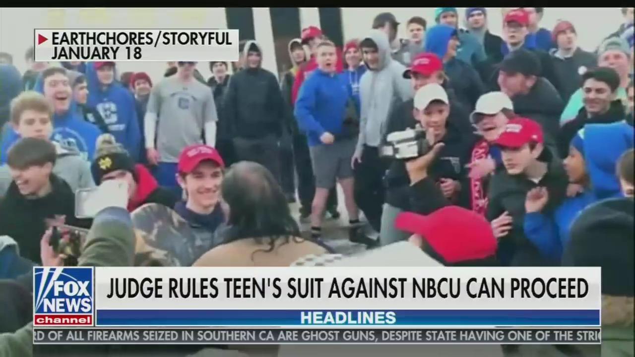 Judge Grants 'Huge Win' for Covington Kid's Case Against NBC