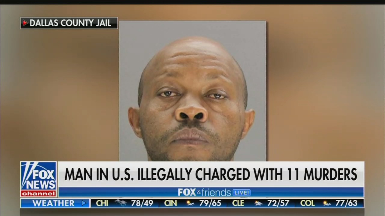 BLACKOUT: Networks Still Refuse to Cover Serial-Killing Illegal Alien