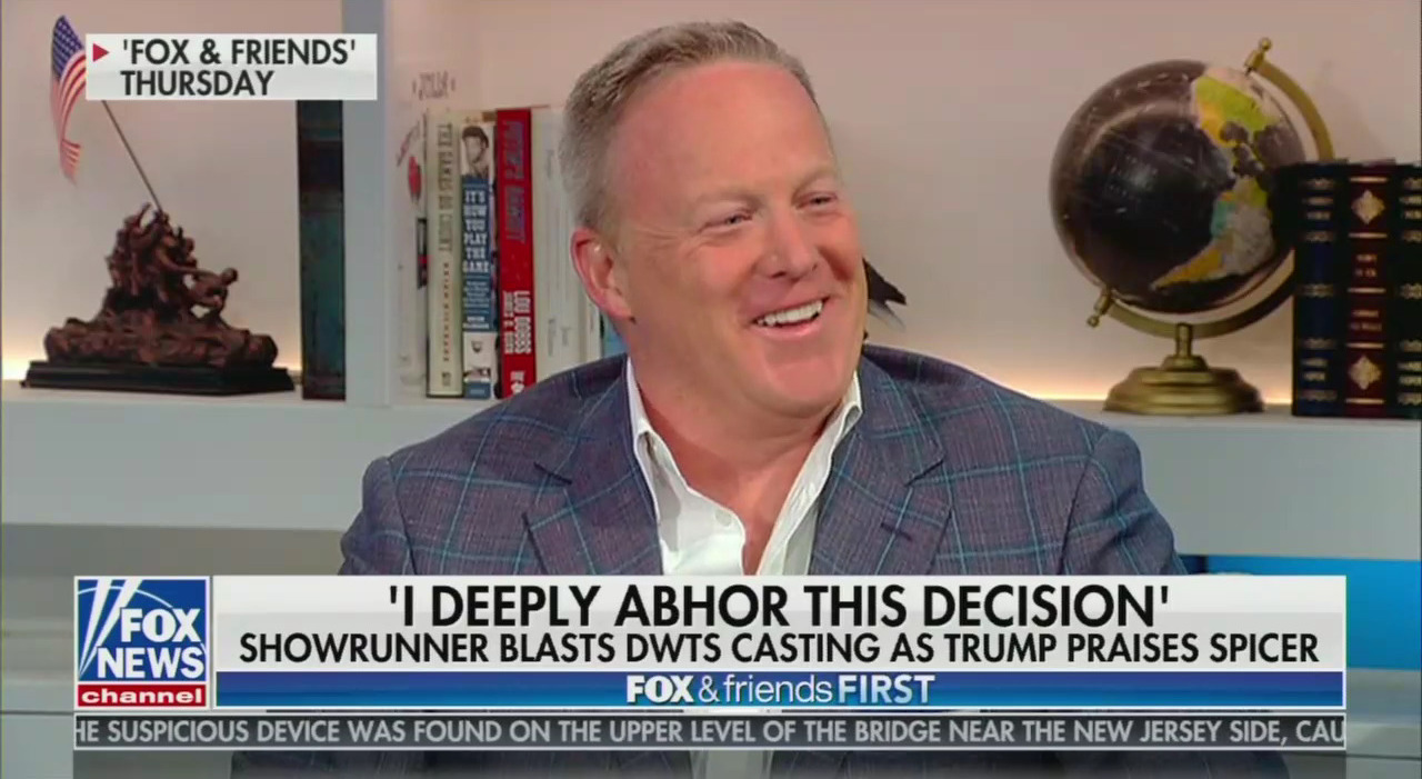 'Dancing While Children Sit in Cages:' Celebs 'Abhor' Spicer on DWTS