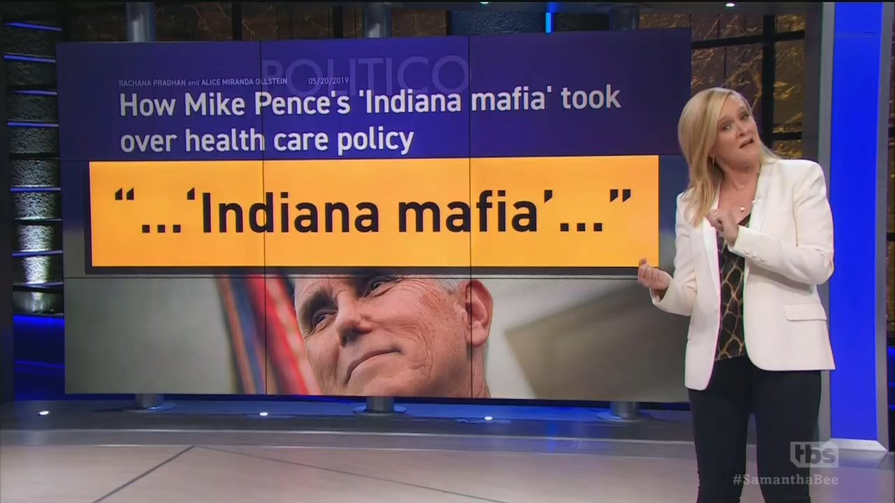 Bee Trashes Pence for Sending 'Women's Health Care..Back to the 1600s'