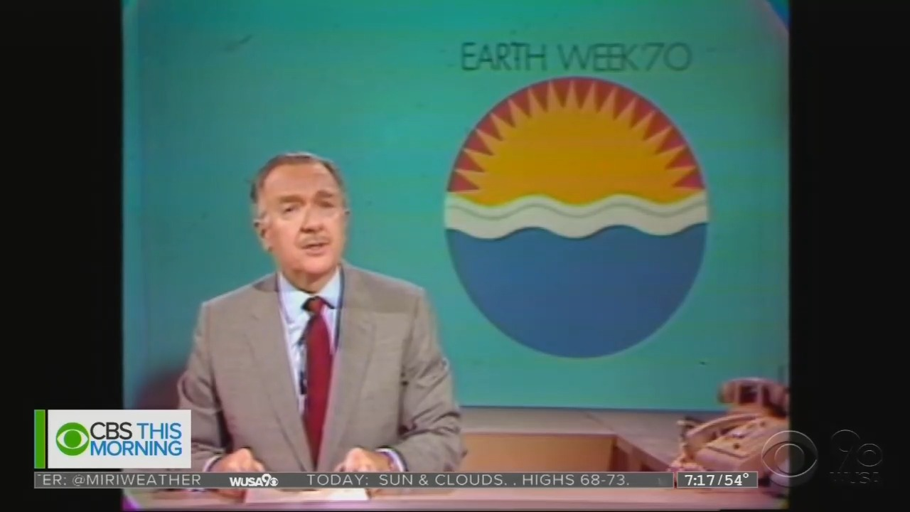 On Earth Day 1970, CBS Panicked: 'Act or Die!'