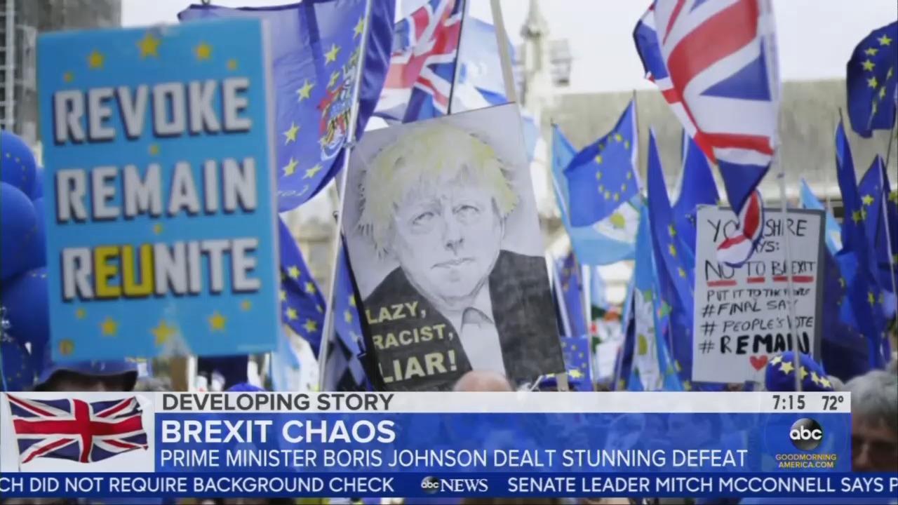ABC, CBS: Critics Say 'Liar' Johnson Could 'Wreck' British Economy