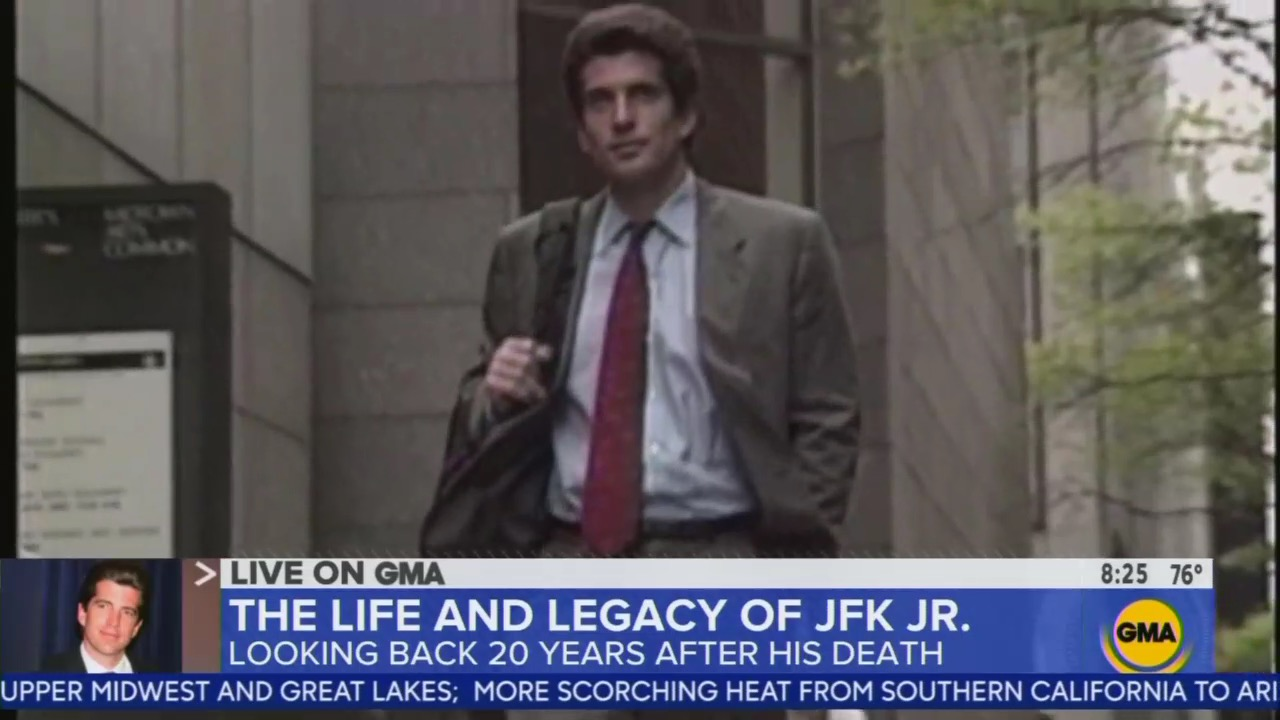 GMA Goes Gaga For JFK Jr.: 'Imagine' If He Had Run for Office!
