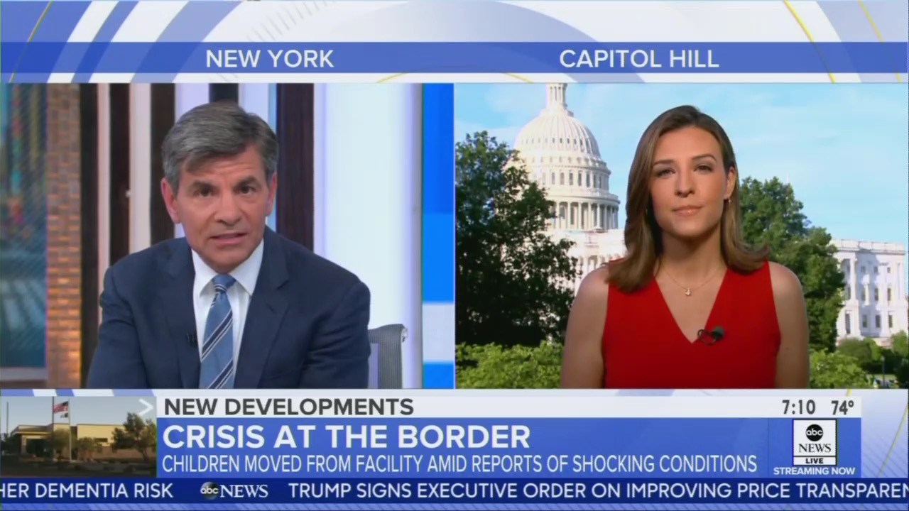 Stephanopoulos, Bruce Justify 'Concerned' Dems Refusing to Fund 'Dire' Border Facilities