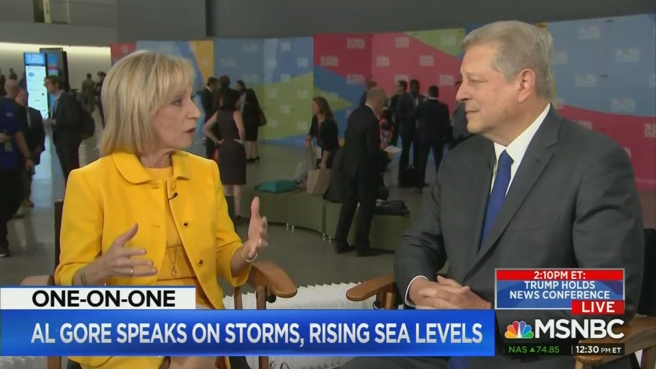 MSNBC's Mitchell Gives Gore, Brown Forum to Push Environmental Agenda