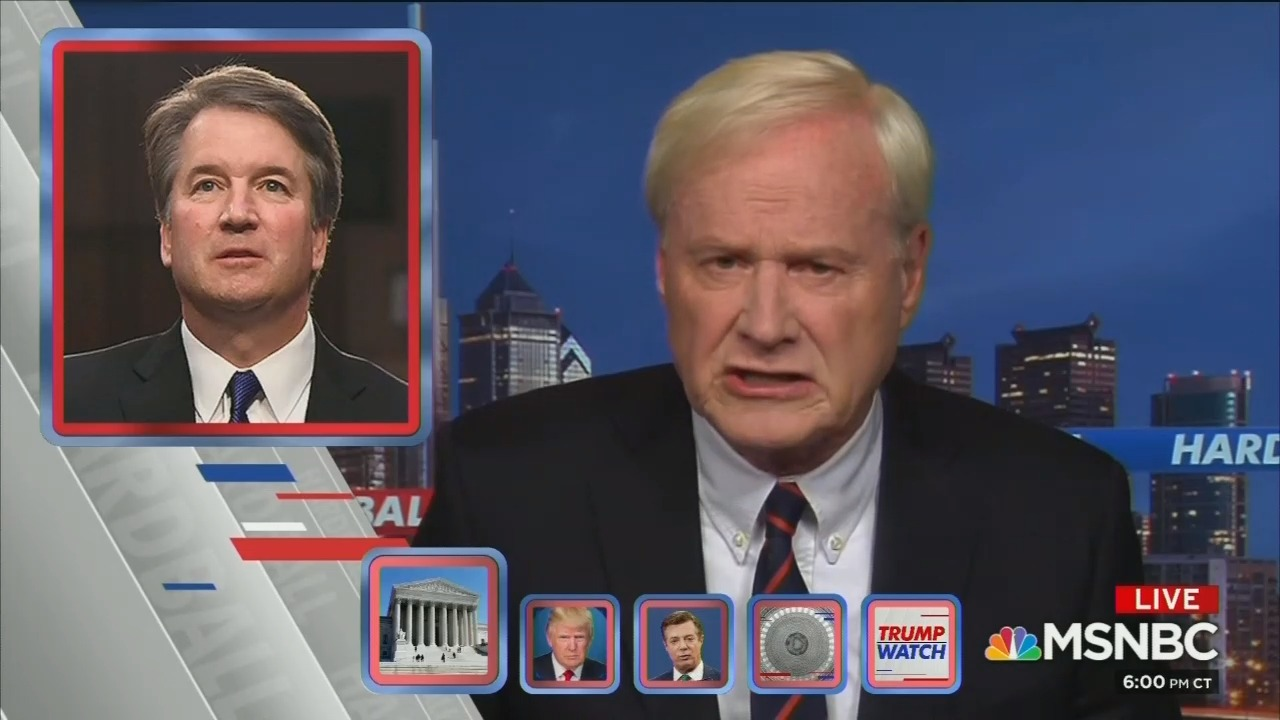Study: TV News Is Rigged Against Brett Kavanaugh