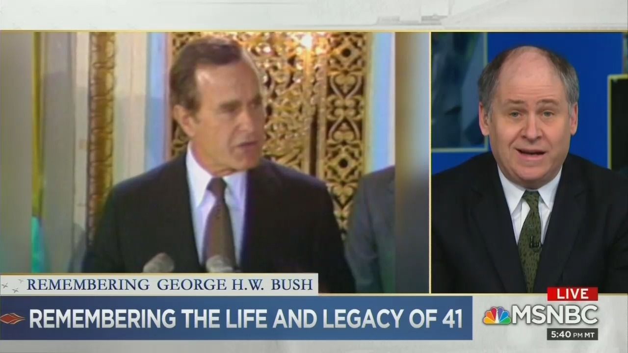 MSNBC Hammers Bush for Going Along With Reagan's 'Discredited' Tax Cut Mythology