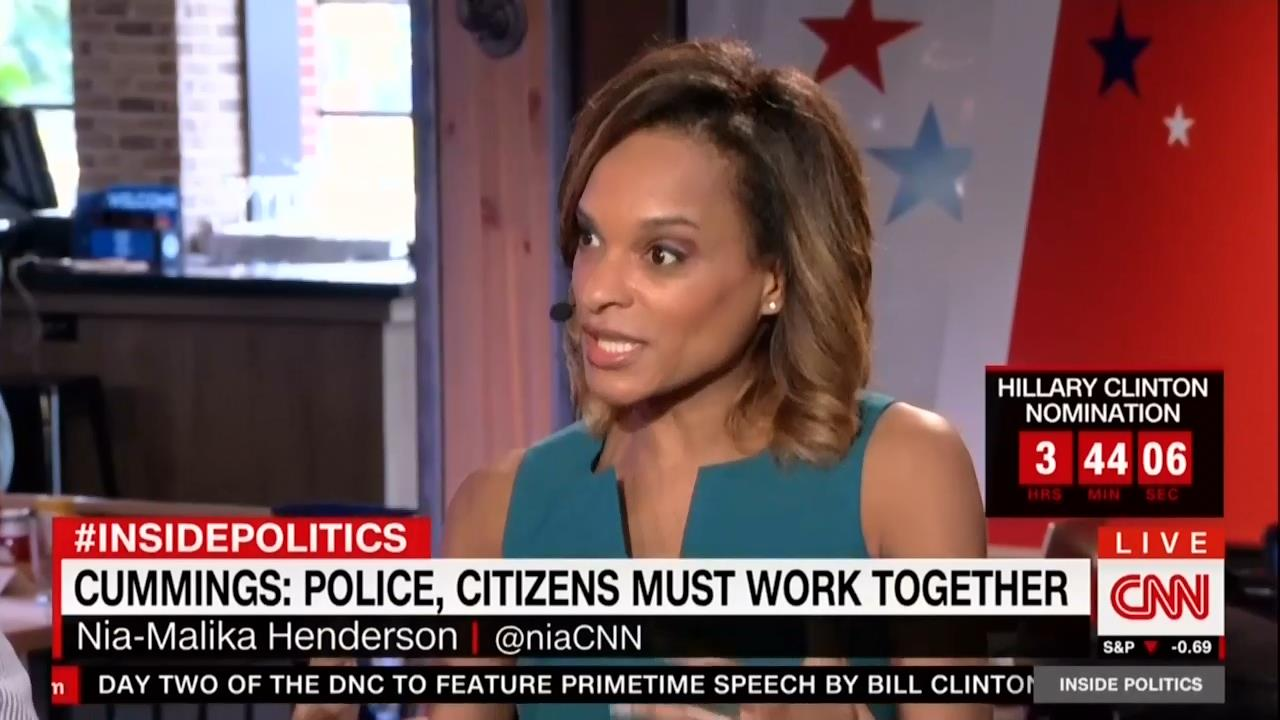 CNNs Henderson Trumps Law Amp Order Has Racist