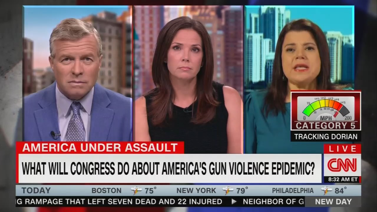 CNN Pines for Gun Control, 'Sick' of 'Thoughts and Prayers'