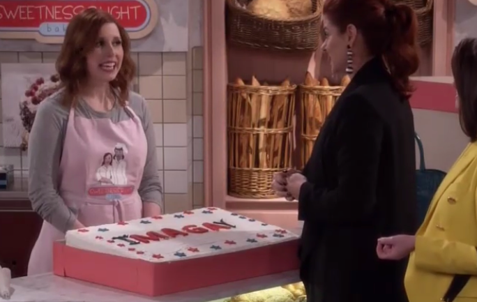 Will & Grace Won't Bake MAGA Cake: Conservatives are 'Terrible People' with 'Horrible Beliefs'