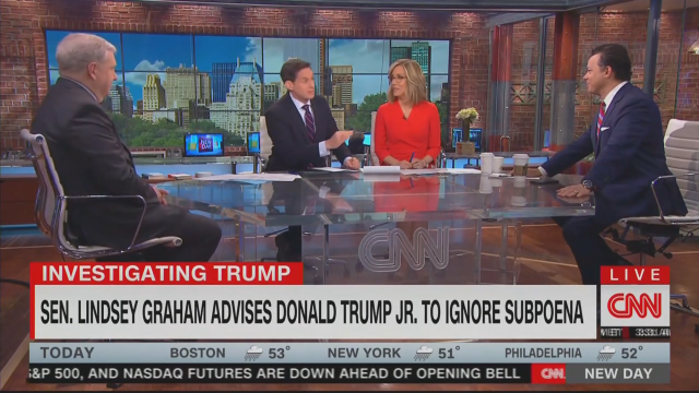 CNN's Berman Suggests Lindsey Graham's Gone 'From Wingman to Wingnut'