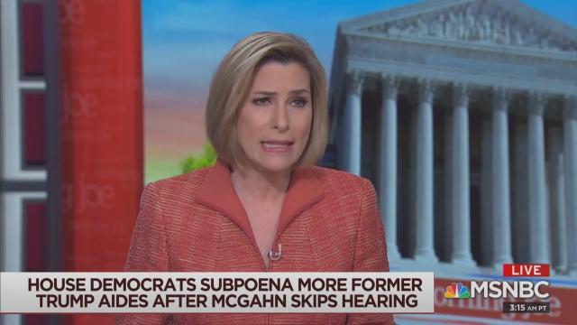 MSNBC Republican Urges Democrats: Act Now on Impeachment!