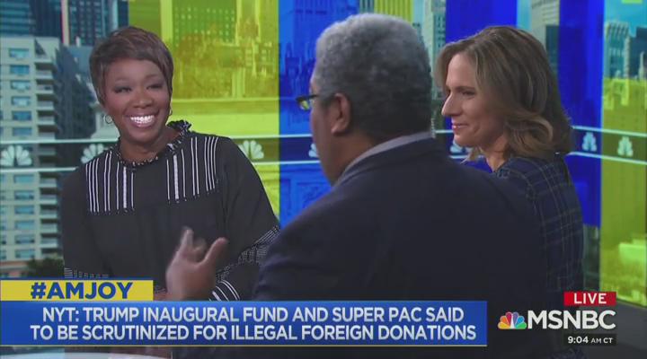 Joy Reid Show: We Have Ivanka in 'Crosshairs,' Go After Her to Get Trump