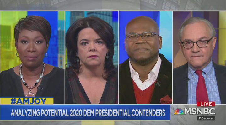 Joy Reid's Racial Test: Democrats 'Can't Run Two White Guys' in 2020