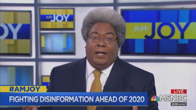 Joy Reid Guest: Blacks Who Don't Vote Democrat Are 'Colonized' by GOP