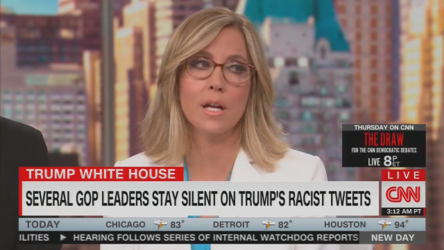 CNN's Camerota Counsels Dems: Come Up with 'New Name' for 'Socialist'