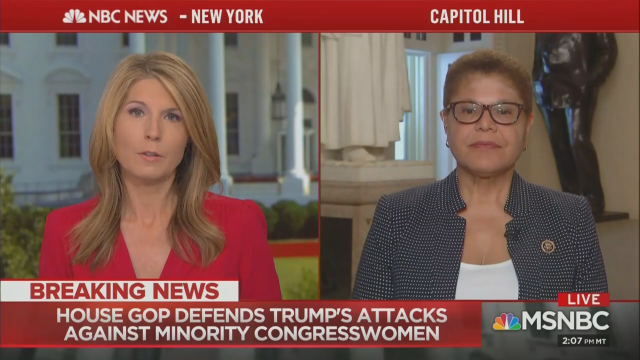 Nicolle Wallace Suggests 'Blood' on Trump Hands If Squad Attacked
