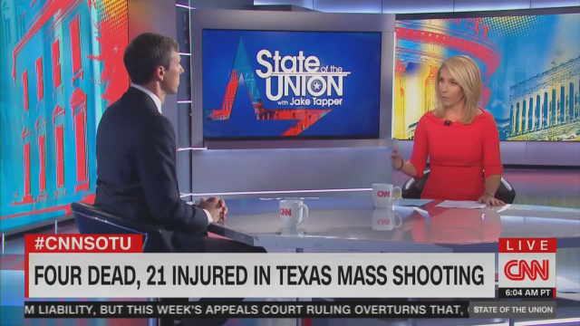 Beto O'Rourke Calls Mass Shootings 'F---ed Up,' CNN Doesn't Bleep