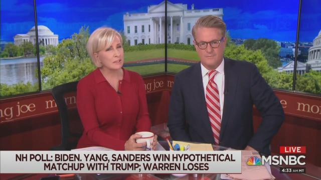 Morning Joe's Doomsday Scenario: Biden Implodes, Warren Wins, Then Loses to Trump