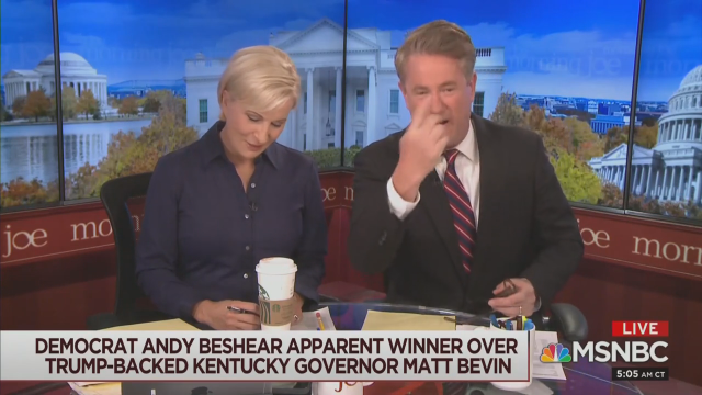 Scarborough Taunts: 'Donald, Son'—You're to Blame for Bevin Loss