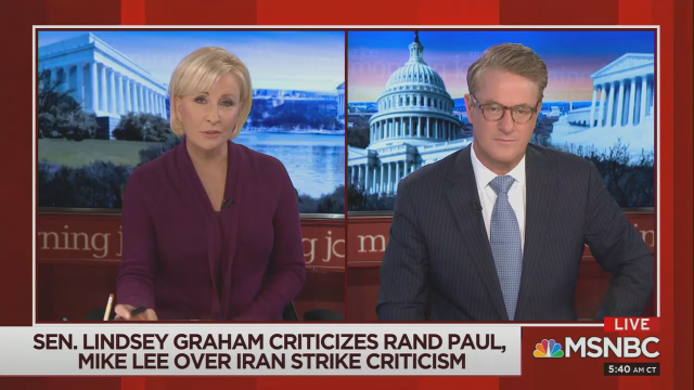 Conspiracy! Mika Brzezinski Suggests Trump Blackmailing Graham, Rubio