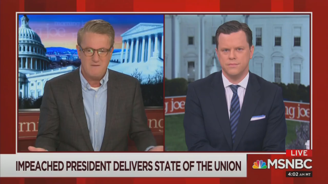 Scarborough Seethes: MSM Too Supportive of Trump on Strong Economy!