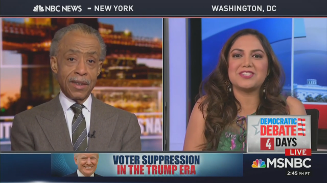 Sharpton's Republican? Trump Speaks 'Out of His Rear End,' 'Racist to the Core'
