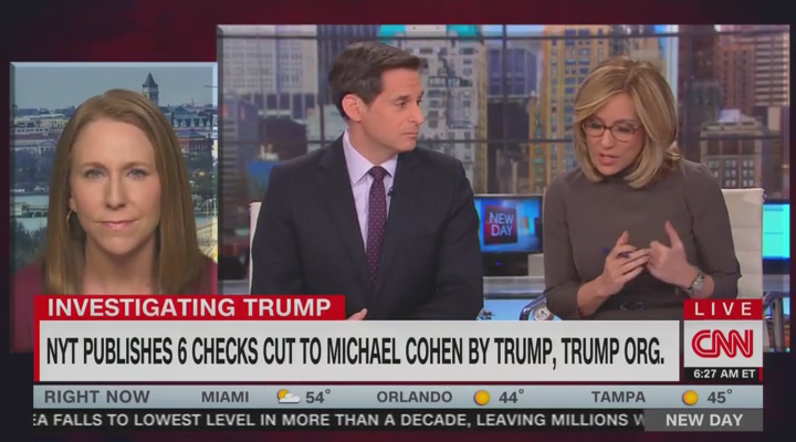 CNN Aghast: Trump Signed Checks on Days He Fulfilled Official Duties