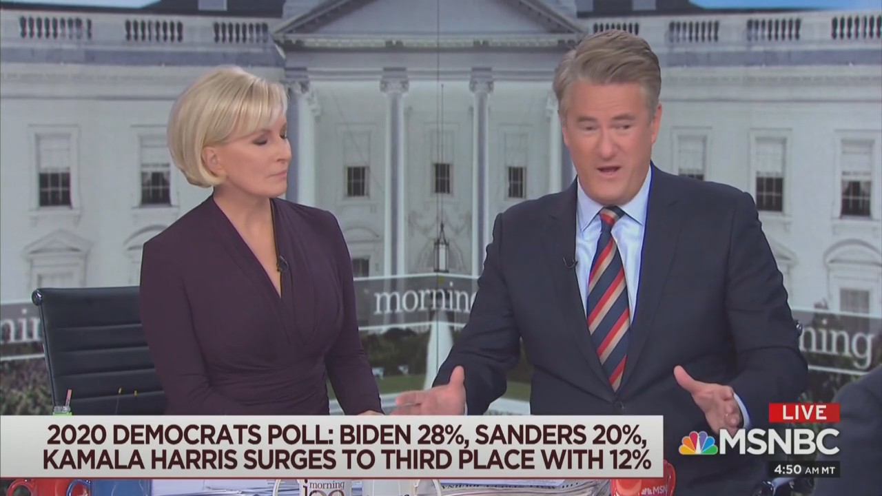 You Won't Believe Which Dem Scarborough Thinks Would Beat Trump