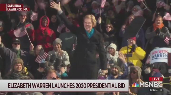 Joe Scarborough Predicts: Elizabeth Warren's Native American Problem Gone By Spring