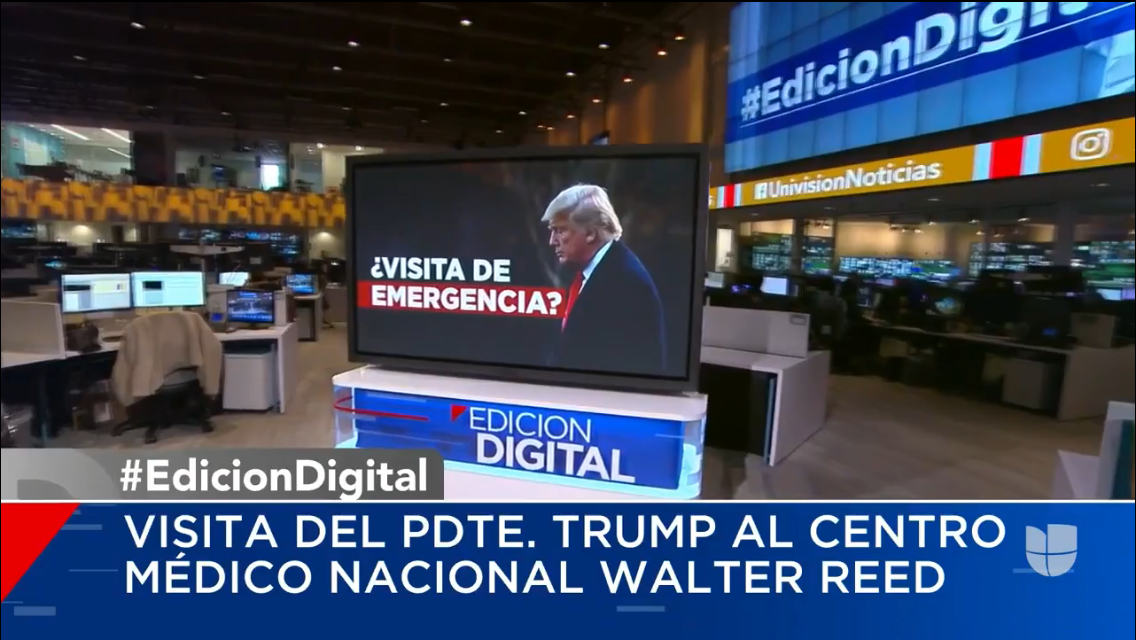 Univision Speculates on Donald Trump´s Health