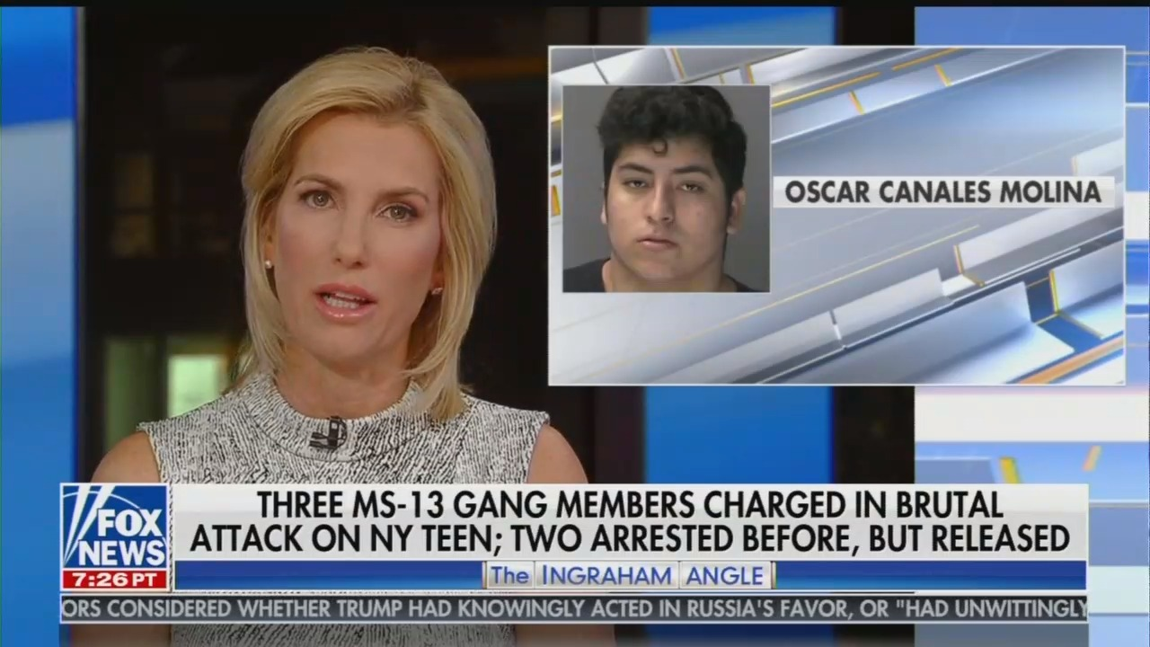 FNC Highlights MS-13 Attackers Who Used Immigration Loopholes