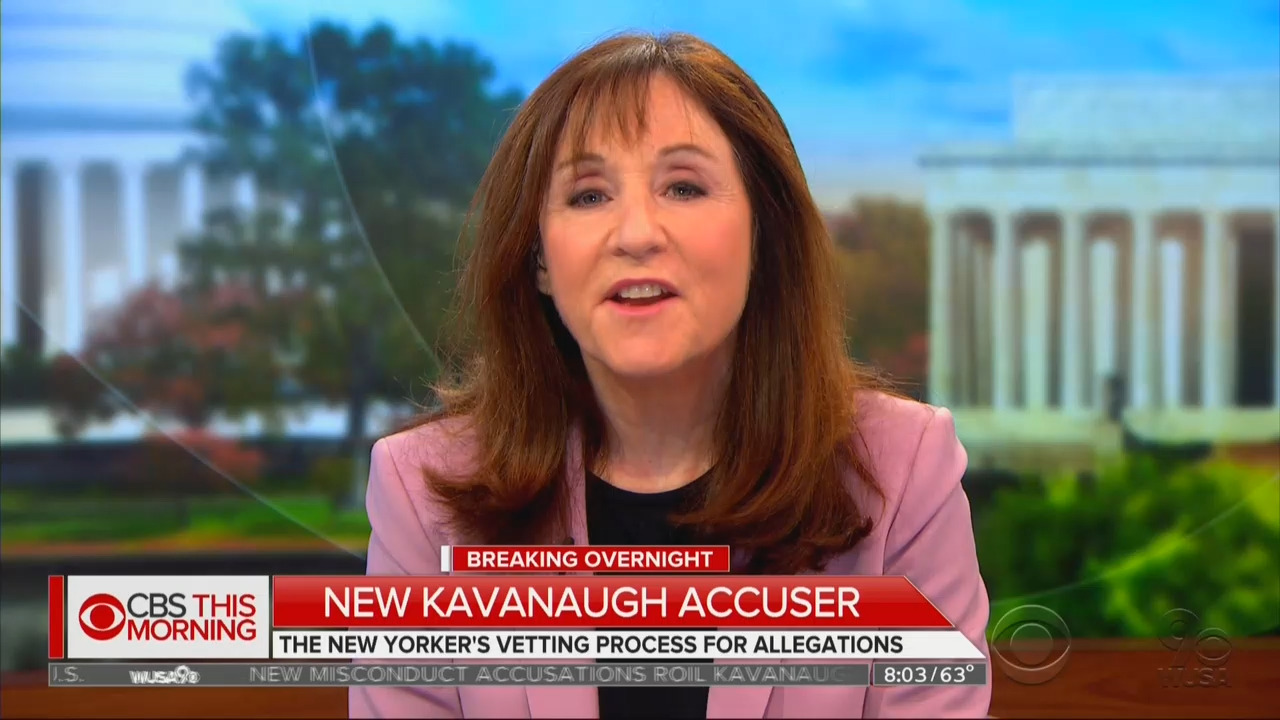 Anti-Kavanaugh Writer's History of Hit Pieces Against Conservatives