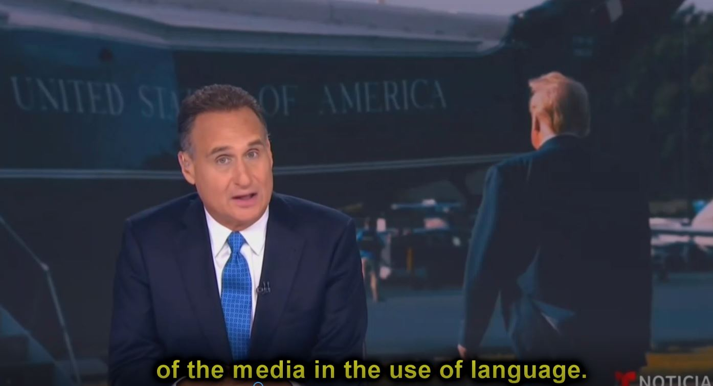 Telemundo Neglects to Mention Its Own 'Incendiary Language'