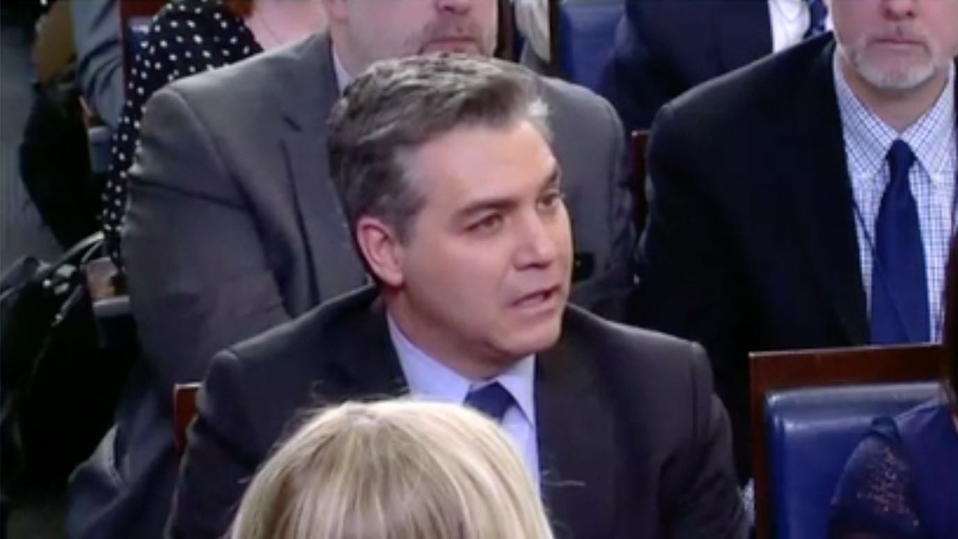 Awww: CNN's Jim Acosta Suffers Serial Self-Humiliation ...