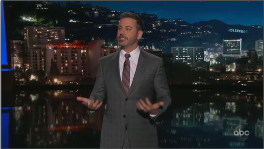 Jimmy Kimmel Gives PSA Trashing 'Strict Anti-Choice Laws'
