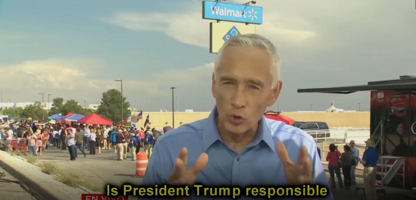 Jorge Ramos Goes On Anti-Trump Binge after El Paso Shooting