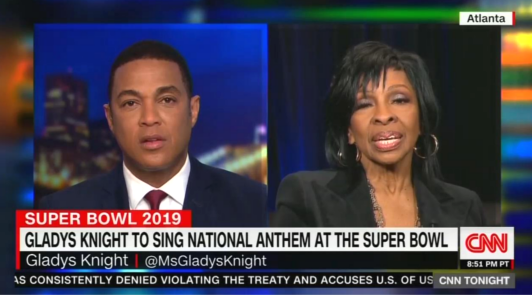 CNN's Lemon Warns Gladys Knight: Anthem Could Hurt Your Career