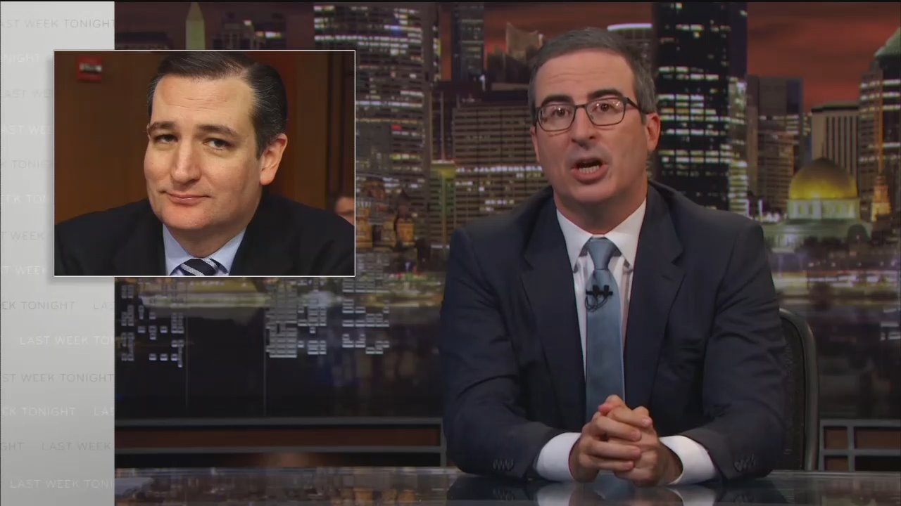 HBO's Vile John Oliver: 'Ted Cruz Can Suck My Balls'