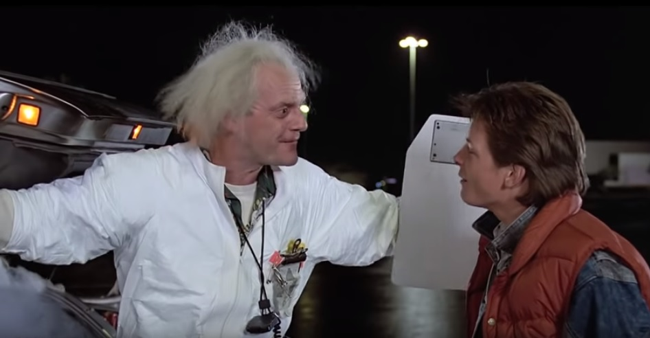 'Doc' Brown Wants Climate Change Back to the Future Sequel