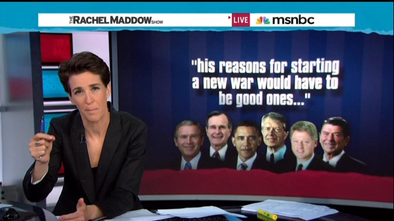 MSNBC FLASHBACK: Of Course They Gave Obama an Nobel Prize