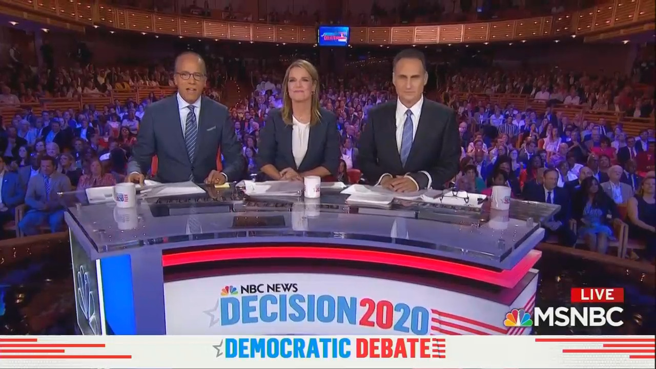 The Embarrassing Questions NBC's Moderators NEVER Asked