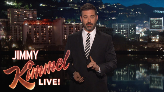 Jimmy Kimmel: World Leaders Mocking Ridiculous Trump Is 'Our Job'