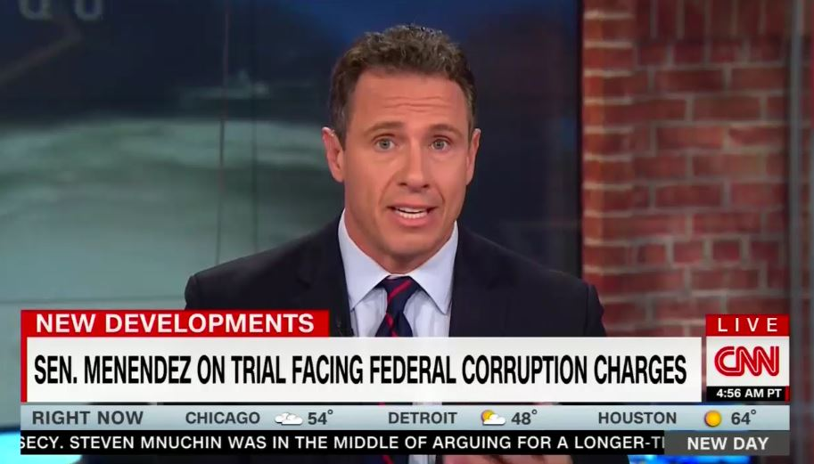 CNN Once Called Menendez Trial 'Big Deal,' So Where's the Coverage?