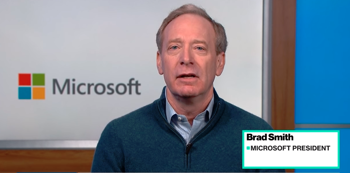 Microsoft President Suggests 'Building a Browser' to 'Block Content'