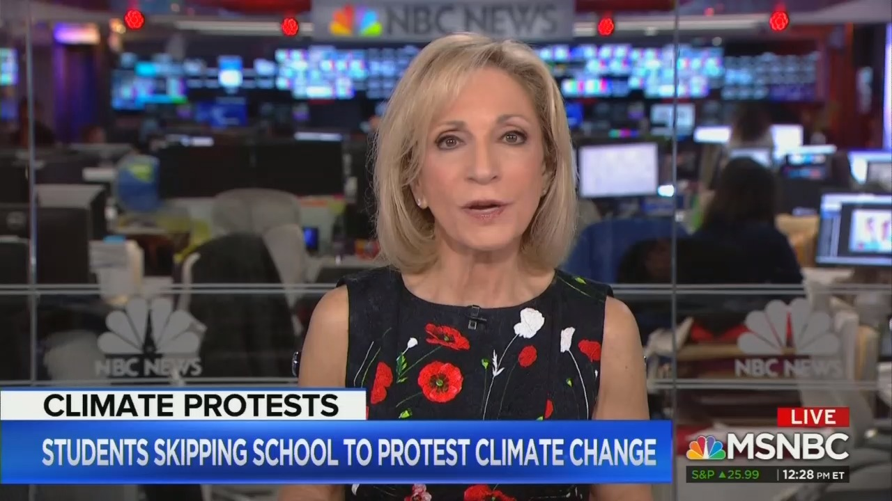 MSNBC Hypes Students Skipping School To Protest Global Warming