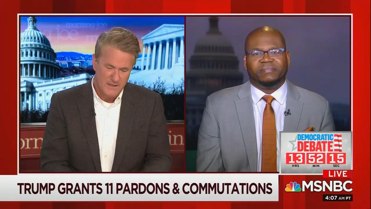 MSNBC's Jason Johnson Likens Trump to a 'Proto Dictator' Over Pardons