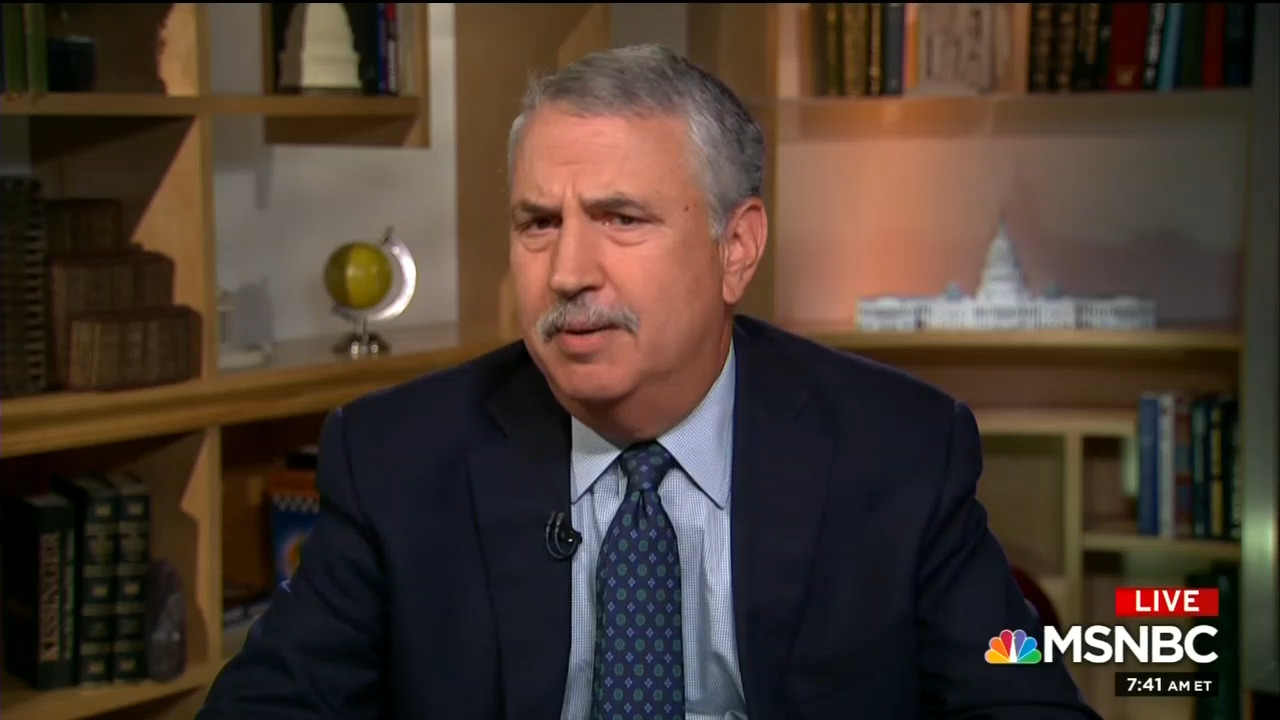 NYT's Tom Friedman: In Midterms 'You Have to Vote for a Democrat'