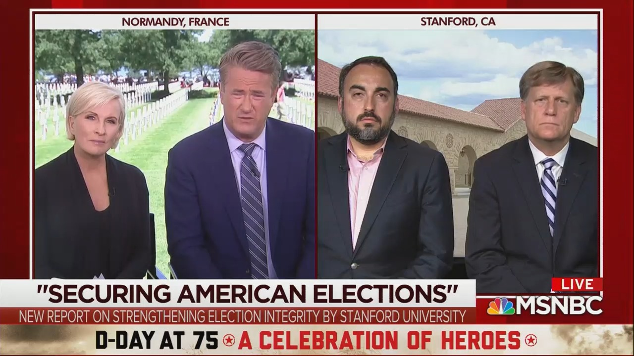 Morning Joe Panel Compares D-Day to Russian Interference in the 2016 Election