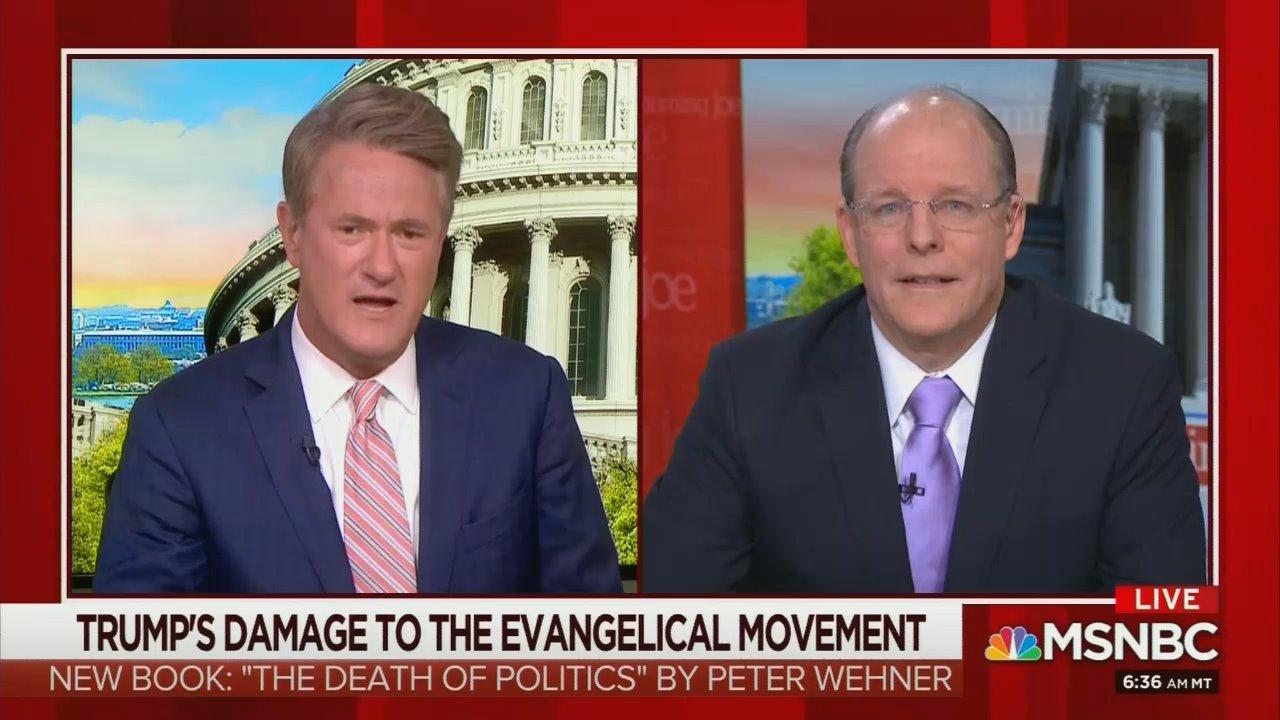 Scarborough, Panel Trash 'Robotic' Evangelicals for Supporting Trump